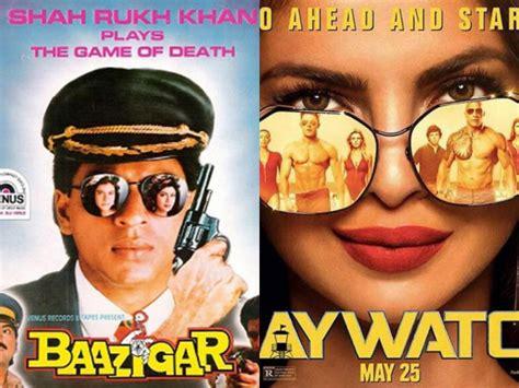 priyanka chopra hollywood movie poster priyanka chopra s baywatch poster copied from shahrukh