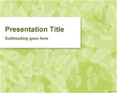butterfly themes for powerpoint 2010 free butterfly powerpoint template