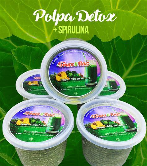 Polpas Em Pote Detox by Polpa Detox Verde Kit 5 Potes Detox De 250 Ml