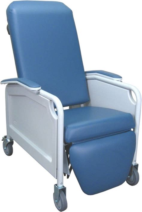 Blue Hospital Detox by Winco Lifecare Geri Chair Recliner Free Shipping