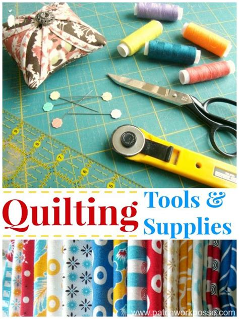 Patchwork Quilting Supplies - 25 best ideas about quilting tools on