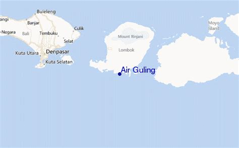 Guling Air Air Guling Surf Forecast And Surf Reports Lombok South