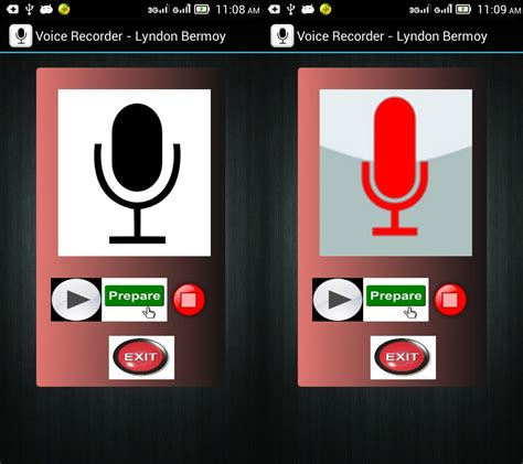 android voice recorder voice recorder application in android free source code tutorials and articles