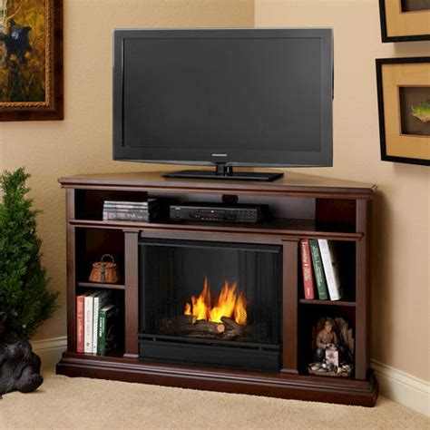Real Flame Churchill Ventless Gel Fireplace Entertainment Menards Gas Fireplaces