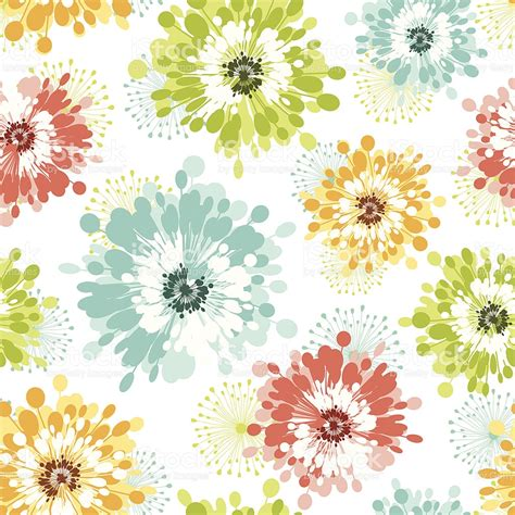 flower pattern modern modern floral seamless pattern stock vector art 165809320