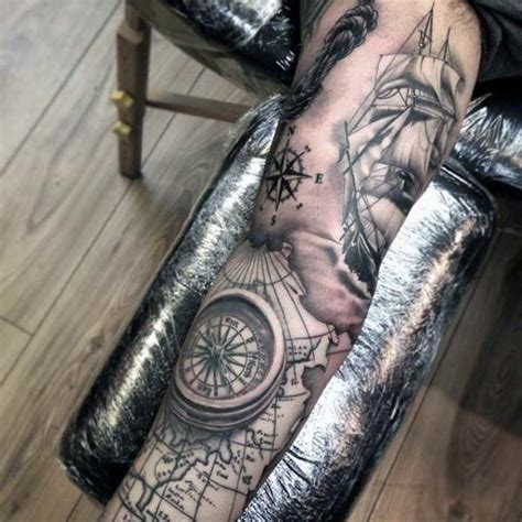 nautical sleeve tattoo designs 50 best nautical design ideas