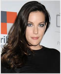 hairstyles for narrow liv tyler hairstyles for narrow face shapes
