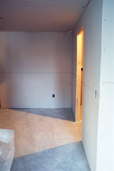 basement drywall school of decorating by jackie hernandez