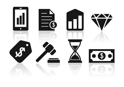 minimalist icon free minimalist business and finance icon set