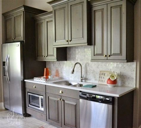 Kitchen With Tile Backsplash Eclectic Home Tour Sita Montgomery Interiors Small