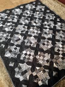 Moda Black Dress Quilt Pattern by Large Throw Size Black And White Quilt Made Using