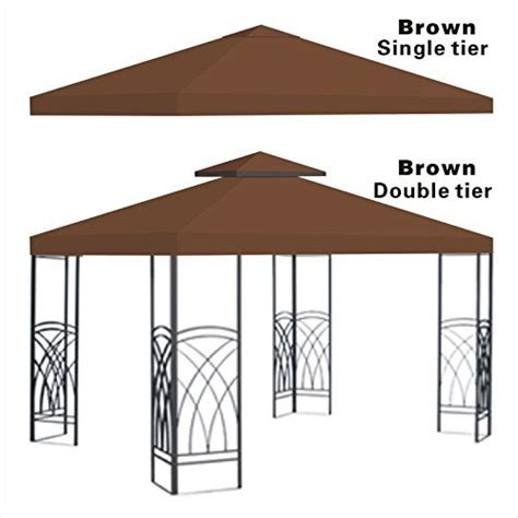 Patio Gazebo Replacement Covers Benefitusa Replacement 10 X10 Gazebo Canopy Top Patio Pavilion Cover Sunshade Polyester Single