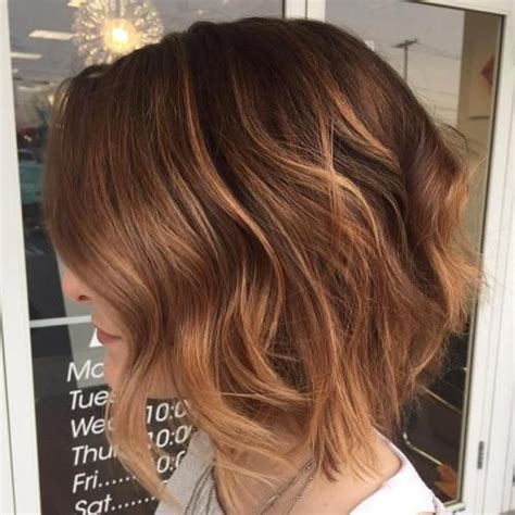 40 On Trend Balayage Hair Looks 40 On Trend Balayage Hair Looks Wavy Bobs Reddish Brown And Bayalage