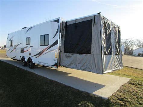 hauler screen room rv haulers custom enclosed cargo trailers and car trailers