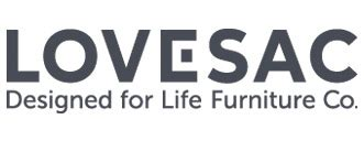 lovesac logo lovesac marries visibility efficiency and growth with