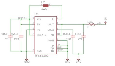 Power Supply 5v 2a By E Support tps61202 failure when taking 3 7v to 5v non isolated dc