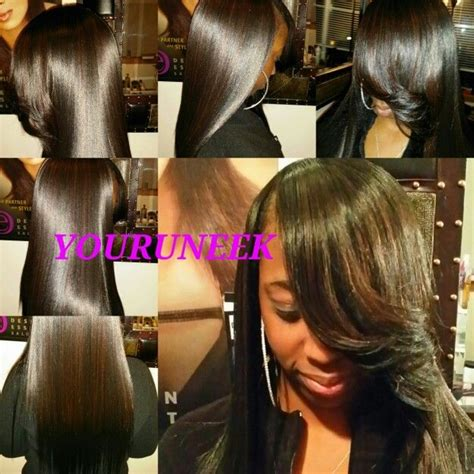 Glue In Weave Hairstyles by Model Hairstyles For Glue In Hairstyles Curly Weave