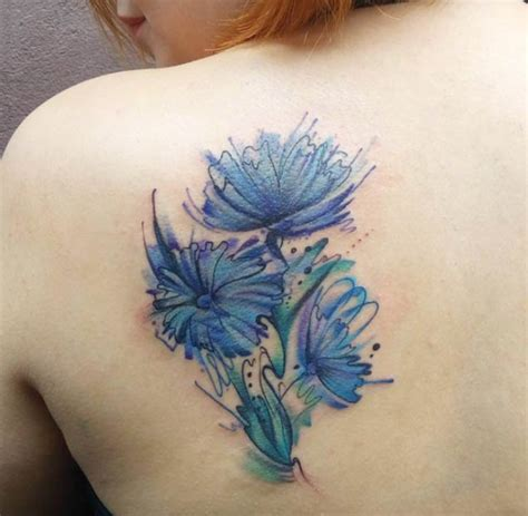 watercolor flowers tattoo 36 stunning watercolor flower tattoos tattooblend