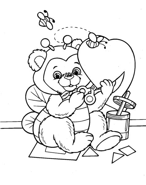 free coloring pages of valentine s day