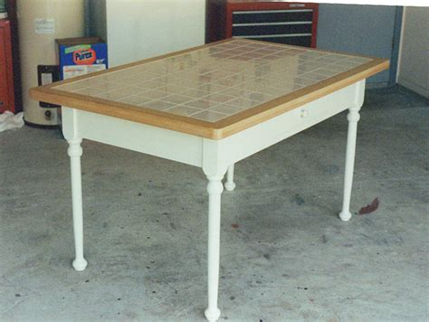 Tiled Kitchen Table Tables Chairs