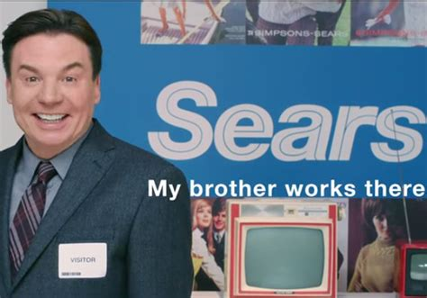 mike myers canada mike myers stars in sears ad with his brother who works