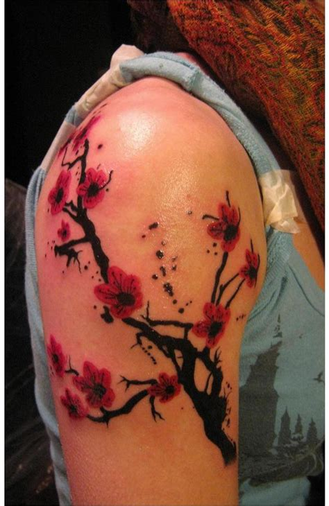 tattoo flower tree 25 most beautiful cherry tattoos exclusive cherry
