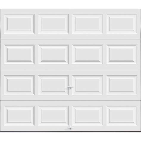 Clopay Premium Series 8 Ft X 7 Ft Garage Door The Home 7 Ft Garage Door