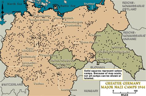 map of germany 1944 major cs in greater germany 1944