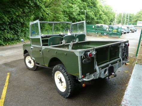 437 jpu 1957 land rover series 1 galvanized chassis