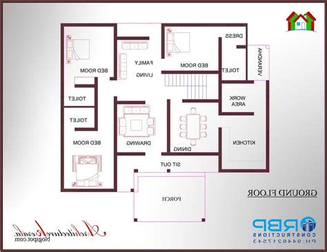 3 bhk kerala home design 3 bedroom house plans in kerala digitalstudiosweb com