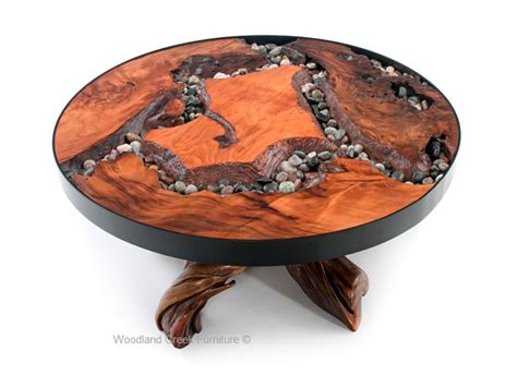 Unique Coffee Table, Modern Organic Cocktail Table, Custom