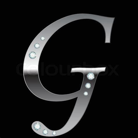glwf com letter n silver vector silver metallic letter g with stripes isolated