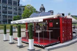 interested in a pop up container mobile restaurant