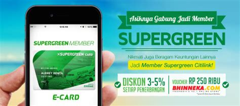 citilink green pass events and promos