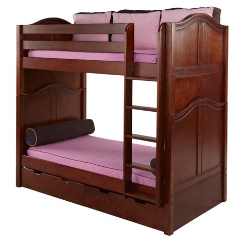 High Bunk Bed Curved Panel High Bunk Bed Rosenberryrooms