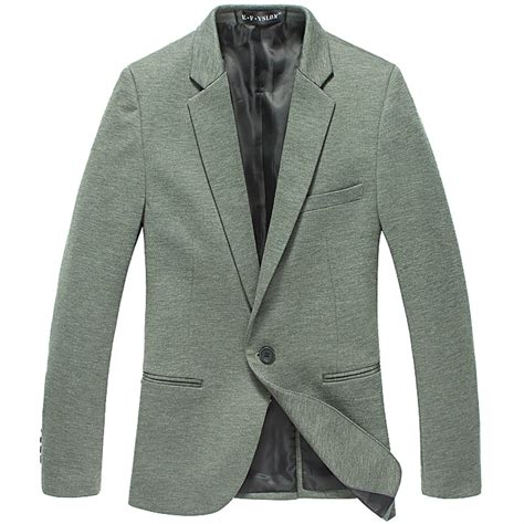 Fashion Style Korean Style Green Blazer new sale cool thin fabric korean green style slim blazer