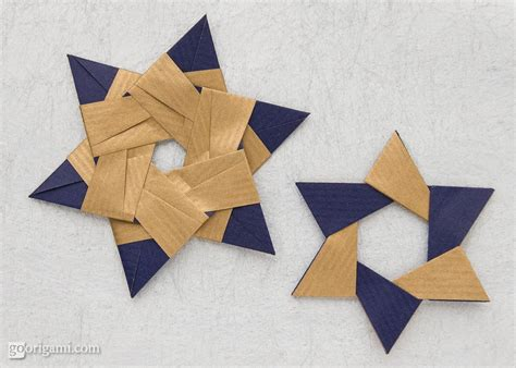 Different Origami Designs - free coloring pages two different designs of modular