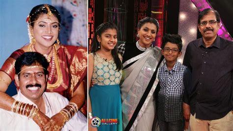 actor vijayashanthi family photos actress roja selvamani family photos husband son
