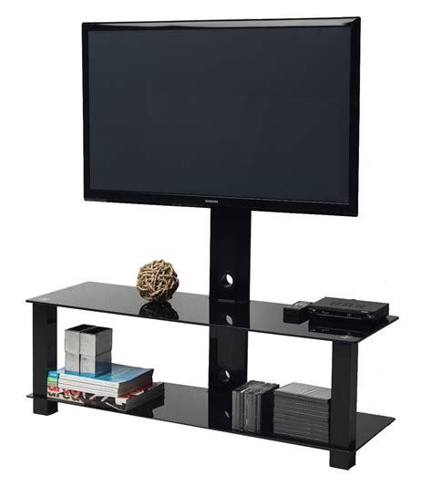 supporto porta tv mobile porta tv m4001l staffa girevole in metallo 60 pollici