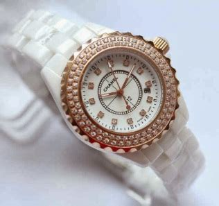 chanel high tech ceramic ring rosegold kw ready 2 warna pelita