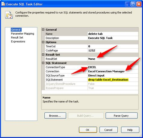 Excel Drop List From Table by Working With Excel Destinations In Ssis 0xc0202025