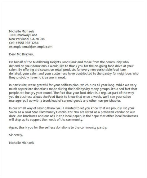thank you letter after meeting vendor 45 thank you letter exle templates free premium