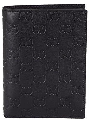 Nbu Dompet Passport Holder Gucci Card Original gucci s black leather gg guccissima passport holder bifold wallet buy in uae