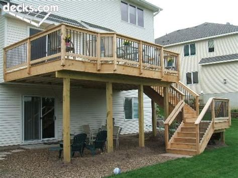 second story deck plans pictures 2nd story deck stairs outdoors pinterest