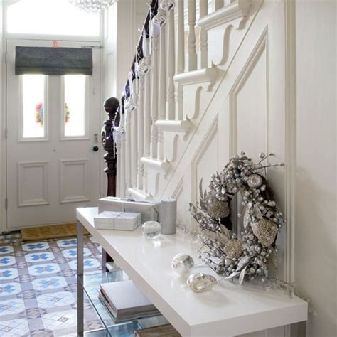 small hallway 25 beautiful homes festive hallway small hallways housetohome co uk