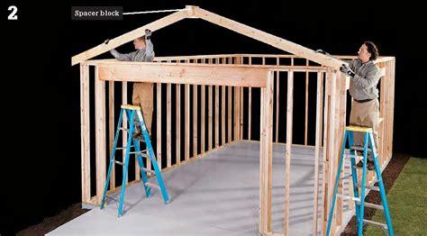 pdf plans wooden garage plans simple