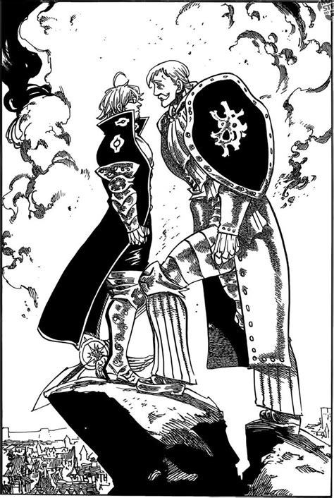 anoboy seven deadly sins nanatsu no taizai manga 184 estarossa vs escanor