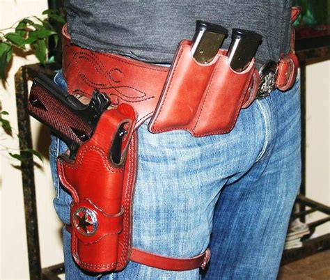 Galerry 1911 western holster rig
