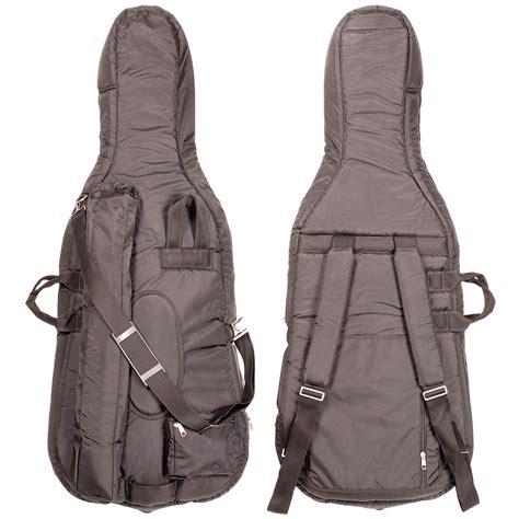 Bag1010black bobelock 1010 soft black 1 4 cello bag at johnson string