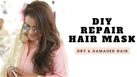 Diy Hair Dryer Repair diy repair hair mask for and damaged hair aarushi